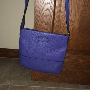 Blue Kate Spade purse